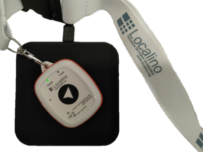 Personal Tag inclusive wireless charge