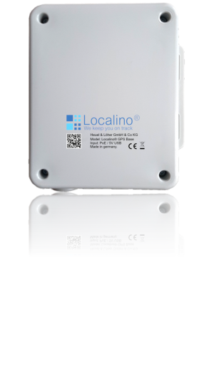 Localino GPS Base to connect the indoor UWB world and outside GPS world